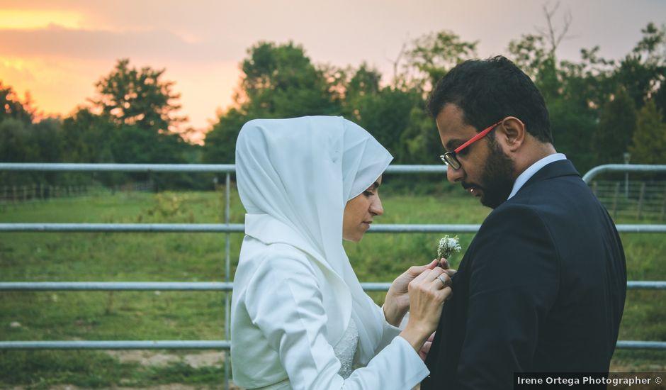 Il matrimonio di Omar e Amina a Albano Sant'Alessandro, Bergamo