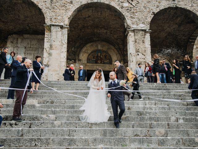 Il matrimonio di Fabio e Federica a Aquino, Frosinone 25