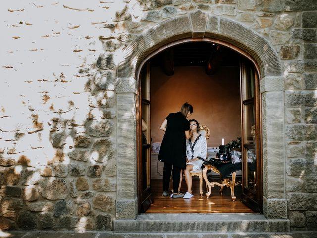 Il matrimonio di Andrea e Georgiana a Cortona, Arezzo 13