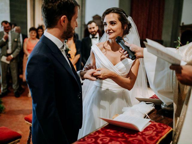 Il matrimonio di Andrea e Georgiana a Cortona, Arezzo 29