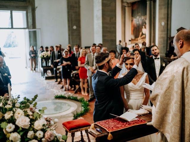 Il matrimonio di Andrea e Georgiana a Cortona, Arezzo 30