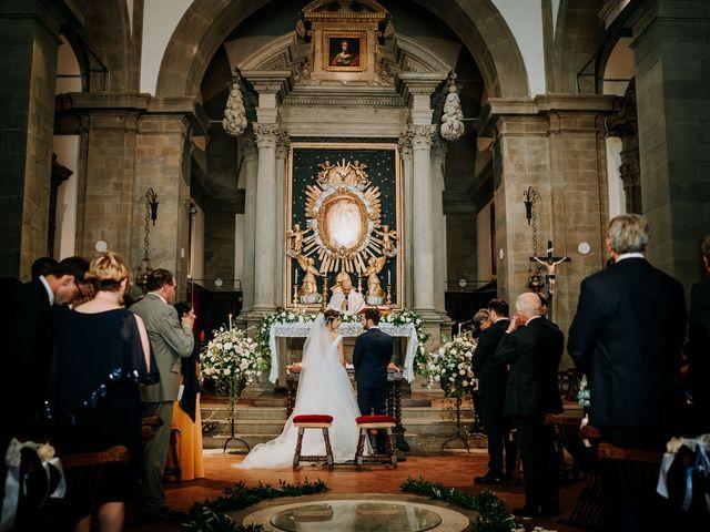 Il matrimonio di Andrea e Georgiana a Cortona, Arezzo 31