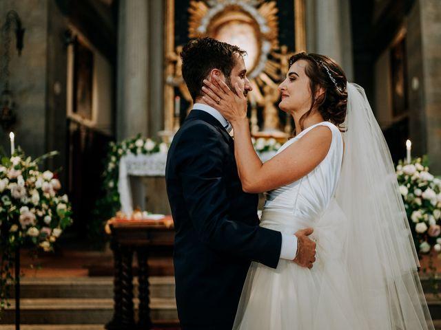 Il matrimonio di Andrea e Georgiana a Cortona, Arezzo 32