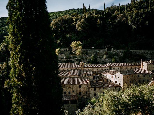 Il matrimonio di Andrea e Georgiana a Cortona, Arezzo 38