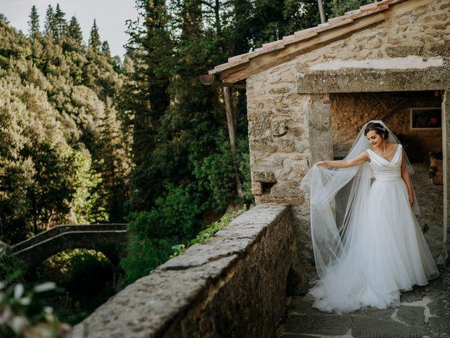Il matrimonio di Andrea e Georgiana a Cortona, Arezzo 41