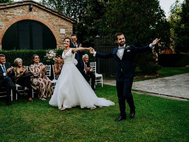 Il matrimonio di Andrea e Georgiana a Cortona, Arezzo 46