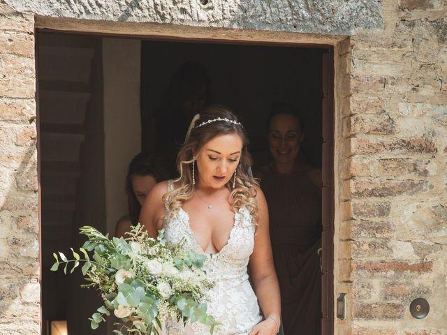 Il matrimonio di Matt e Anastasia a San Casciano dei Bagni, Siena 18