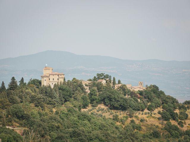 Il matrimonio di Matt e Anastasia a San Casciano dei Bagni, Siena 22