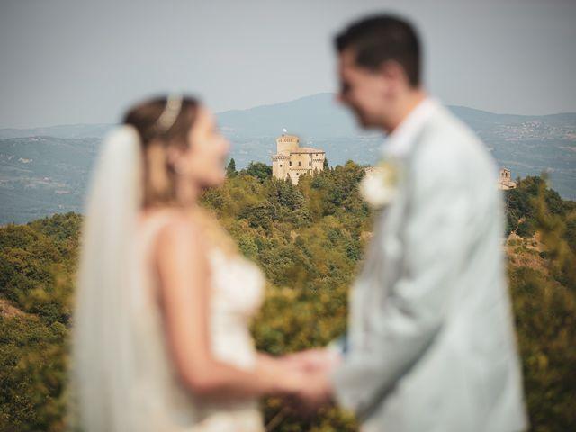 Le nozze di Anastasia e Matt