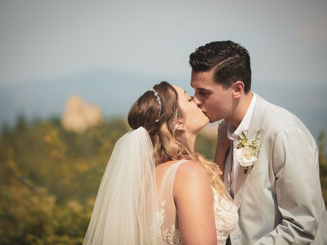 Il matrimonio di Matt e Anastasia a San Casciano dei Bagni, Siena 23