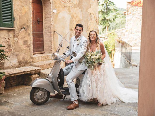 Il matrimonio di Matt e Anastasia a San Casciano dei Bagni, Siena 25