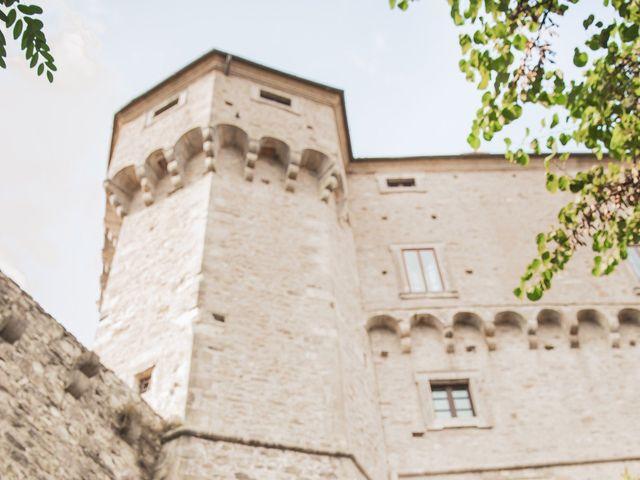 Il matrimonio di Matt e Anastasia a San Casciano dei Bagni, Siena 28