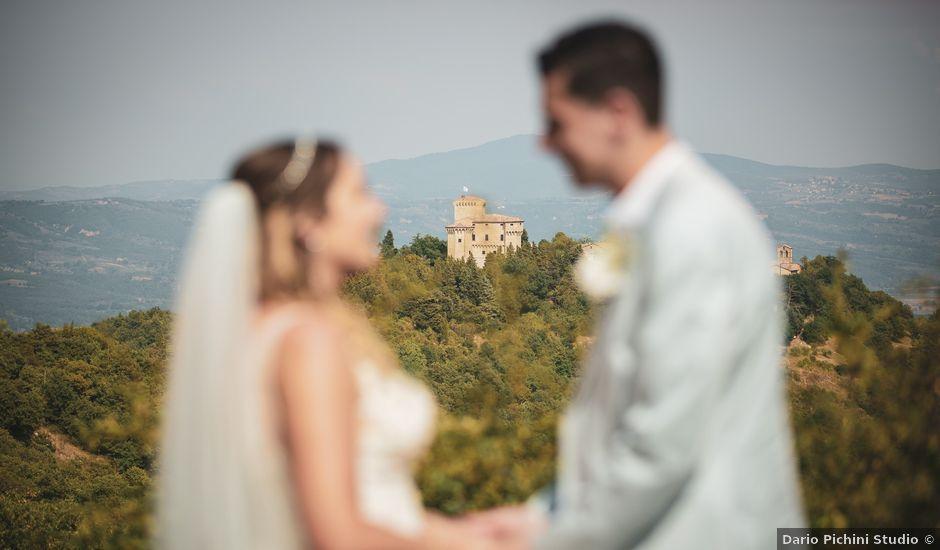 Il matrimonio di Matt e Anastasia a San Casciano dei Bagni, Siena