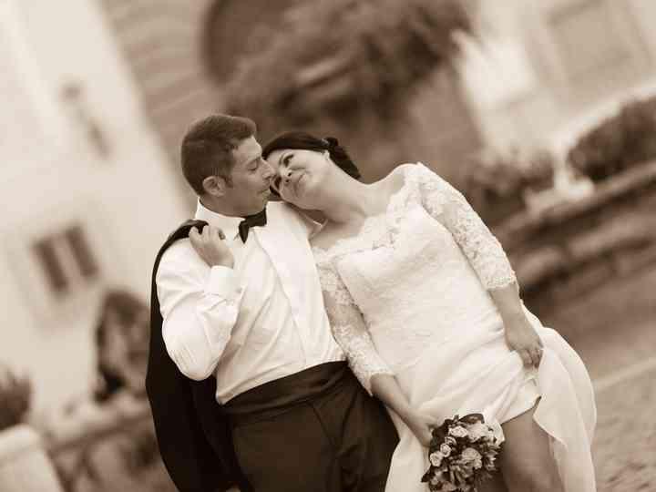 le nozze di Taissa e Mauro