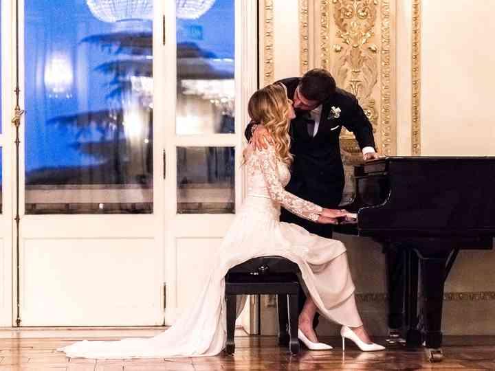 le nozze di Alexandra e Piero