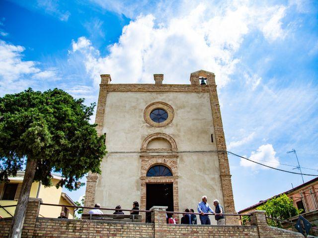 Il matrimonio di Manuel e Martina a Penna Sant'Andrea, Teramo 1