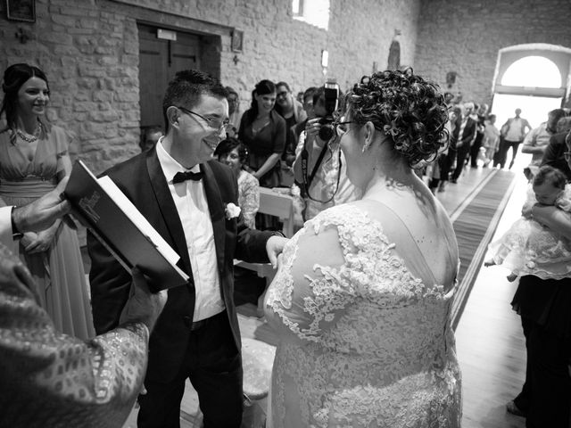 Il matrimonio di Manuel e Martina a Penna Sant'Andrea, Teramo 22
