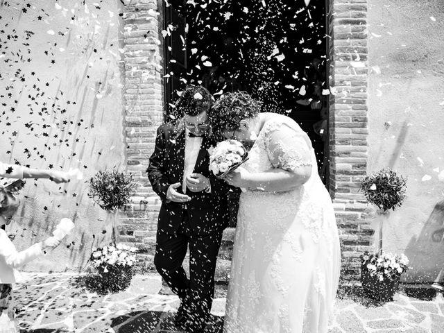 Il matrimonio di Manuel e Martina a Penna Sant'Andrea, Teramo 27