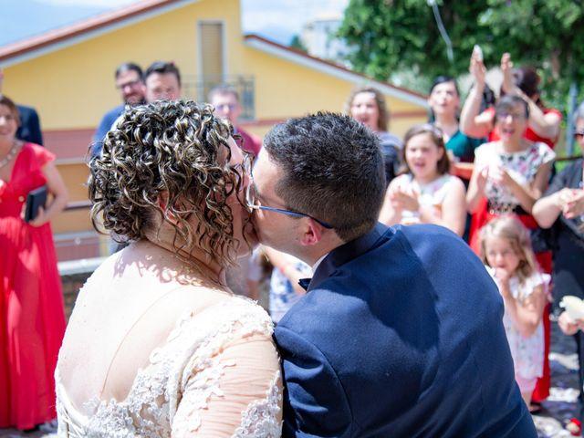 Il matrimonio di Manuel e Martina a Penna Sant'Andrea, Teramo 28