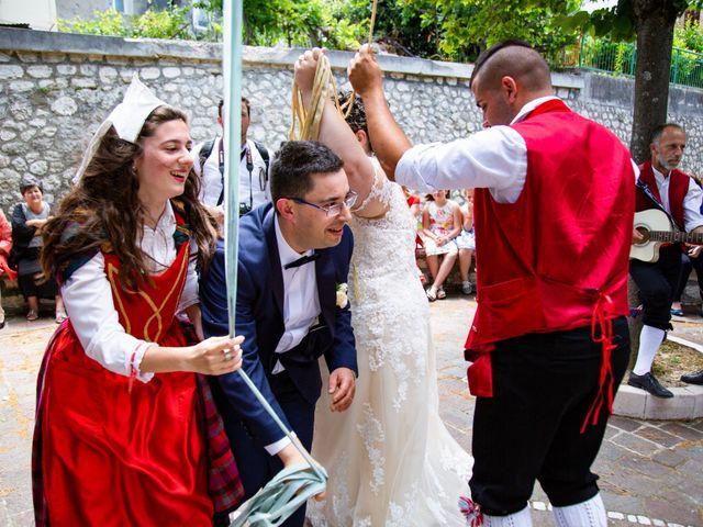 Il matrimonio di Manuel e Martina a Penna Sant'Andrea, Teramo 36