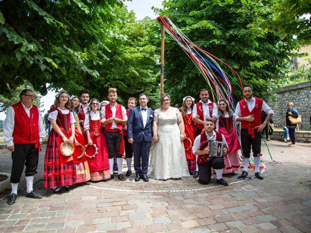 Il matrimonio di Manuel e Martina a Penna Sant'Andrea, Teramo 37
