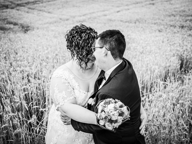 Il matrimonio di Manuel e Martina a Penna Sant'Andrea, Teramo 45