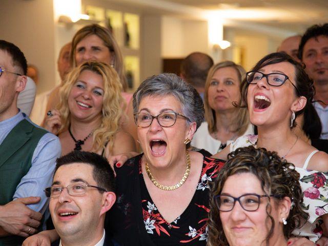 Il matrimonio di Manuel e Martina a Penna Sant'Andrea, Teramo 50