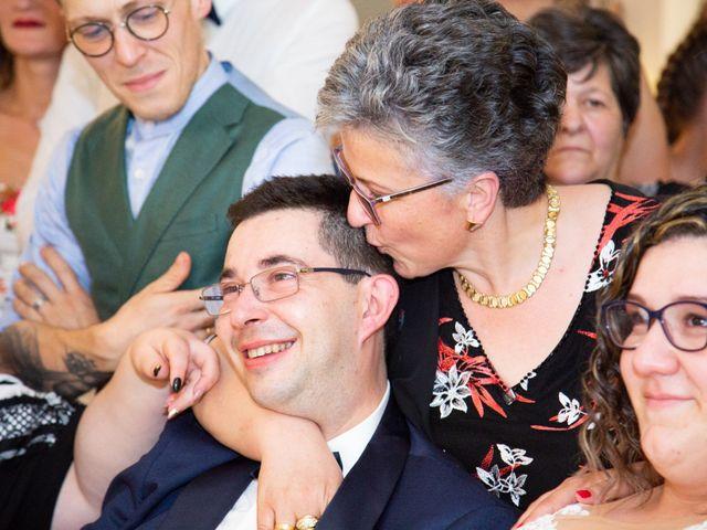 Il matrimonio di Manuel e Martina a Penna Sant'Andrea, Teramo 51