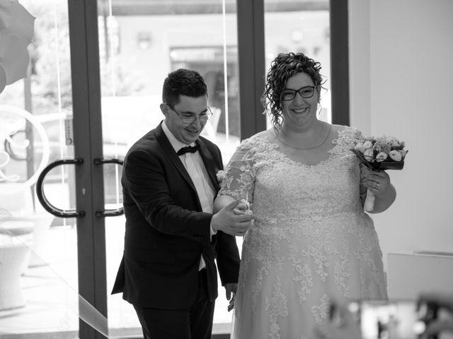 Il matrimonio di Manuel e Martina a Penna Sant'Andrea, Teramo 58