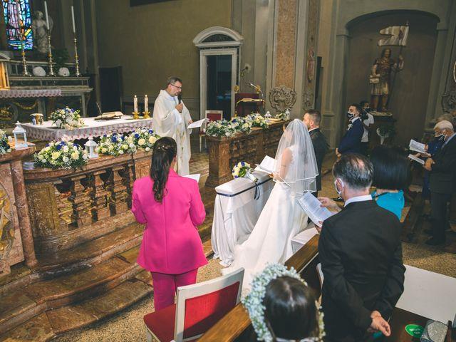 Il matrimonio di Fabrizio e Giorgia a Pieve Emanuele, Milano 78