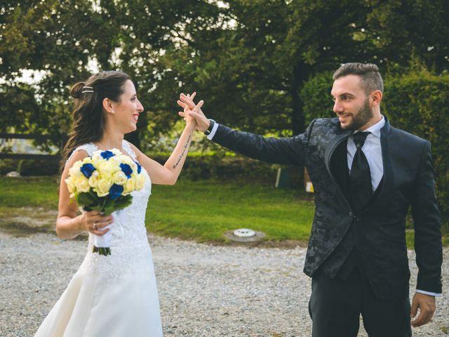 Il matrimonio di Fabrizio e Giorgia a Pieve Emanuele, Milano 134