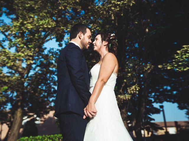 le nozze di Francesca e Lamberto