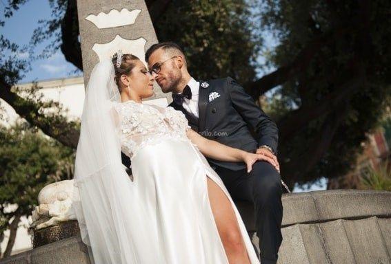 Il matrimonio di Angelica e Pietro a Napoli, Napoli 1