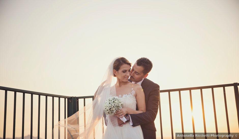 Il matrimonio di Simone e Maria Elena a Terracina, Latina