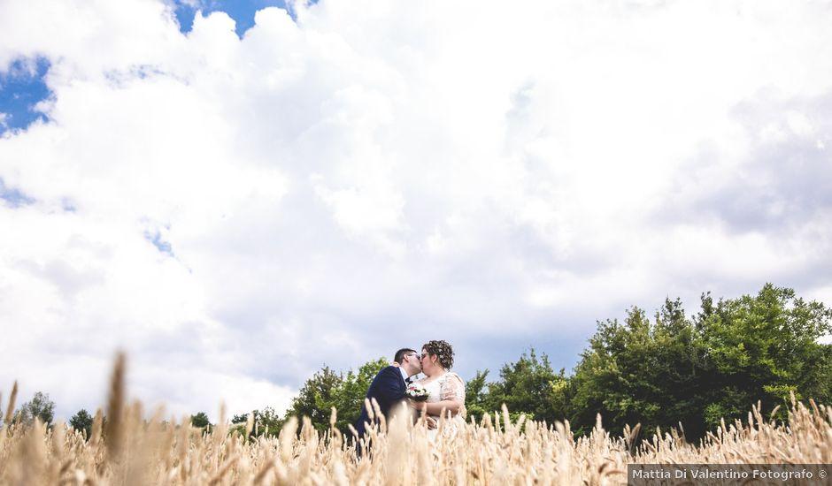 Il matrimonio di Manuel e Martina a Penna Sant'Andrea, Teramo