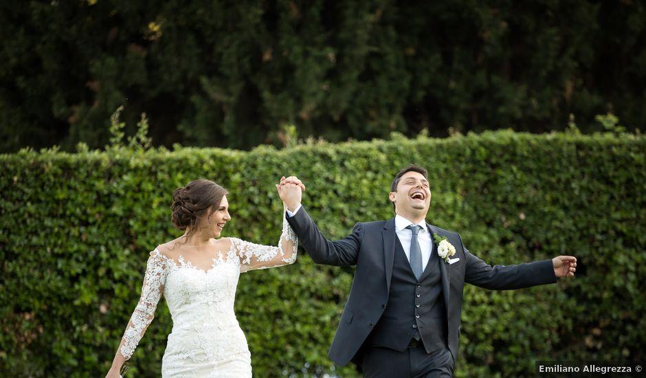 Il matrimonio di Federico e Luana a Bracciano, Roma