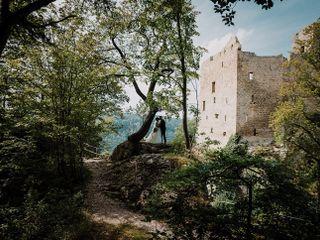 Le nozze di Fabienne e Steffen