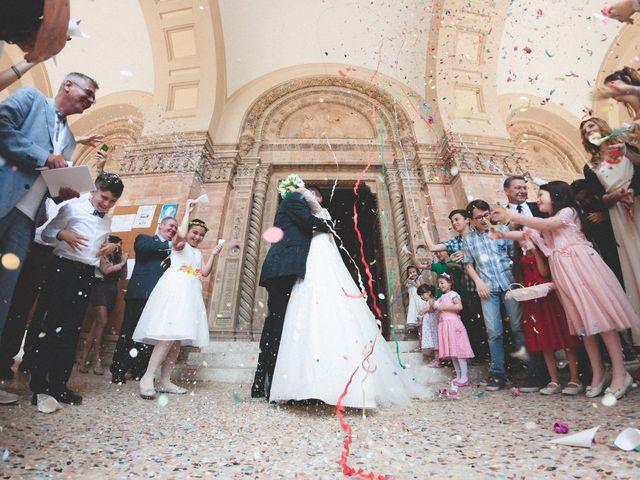le nozze di Roberta e Cristian