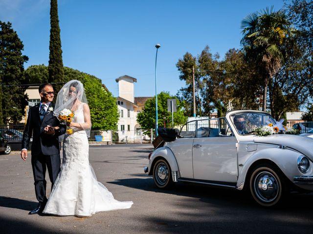 Il matrimonio di Ramona e Davide a Borgo Sabotino, Latina 14