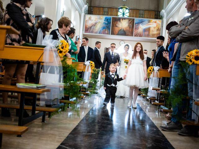 Il matrimonio di Ramona e Davide a Borgo Sabotino, Latina 15