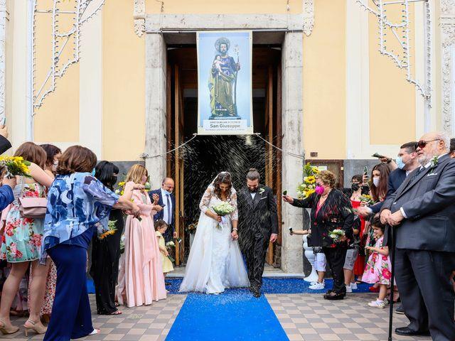 Il matrimonio di Giuseppe e Manuela a Pontecagnano Faiano, Salerno 21