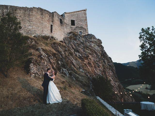 Il matrimonio di Diego e Francesca a Urbania, Pesaro - Urbino 1