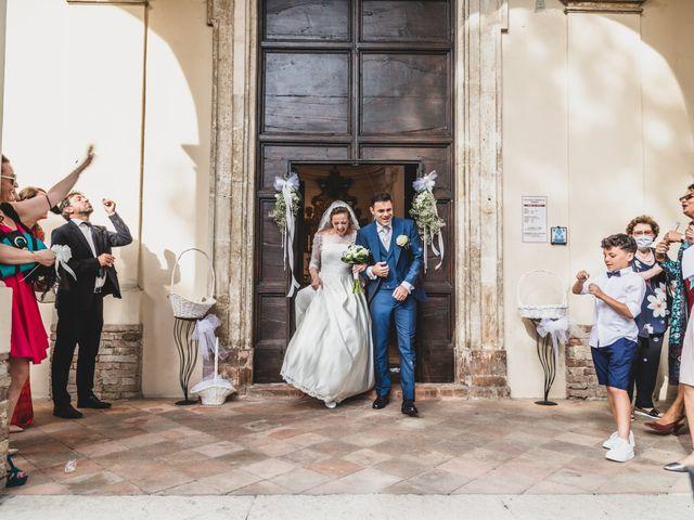 Il matrimonio di Diego e Francesca a Urbania, Pesaro - Urbino 8