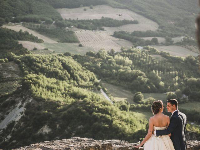 Il matrimonio di Diego e Francesca a Urbania, Pesaro - Urbino 16