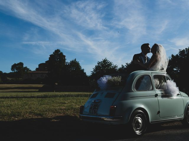 Il matrimonio di Diego e Francesca a Urbania, Pesaro - Urbino 17