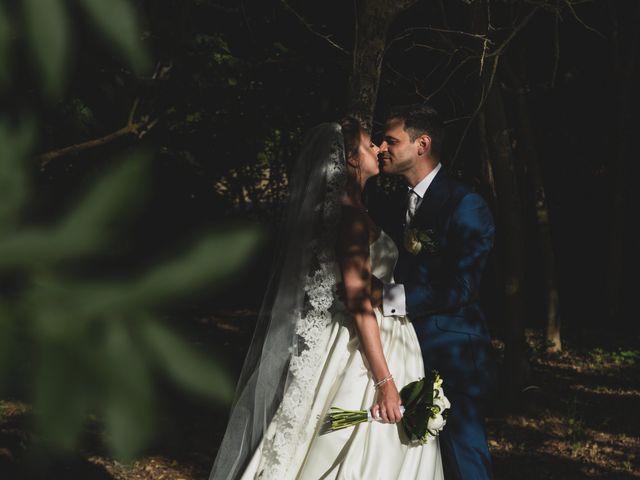Il matrimonio di Diego e Francesca a Urbania, Pesaro - Urbino 24