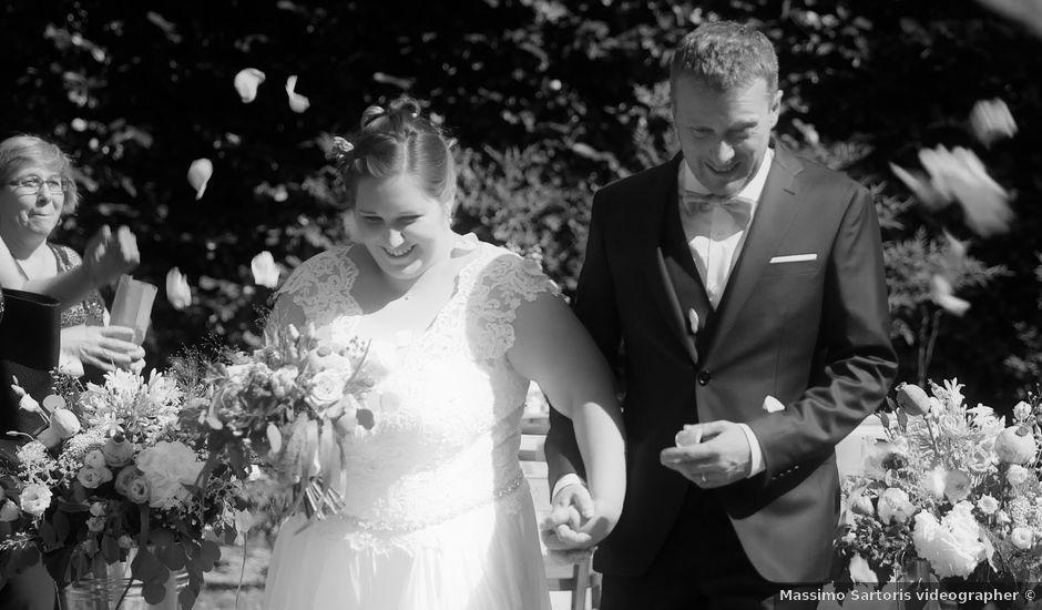 Il matrimonio di Corrado e Noemi a Erbusco, Brescia