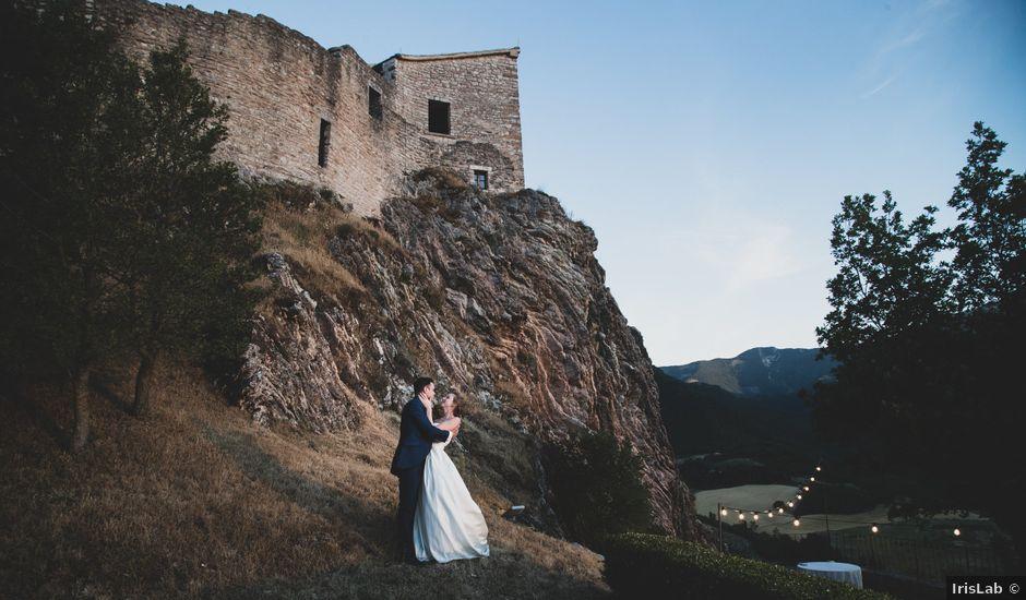 Il matrimonio di Diego e Francesca a Urbania, Pesaro - Urbino