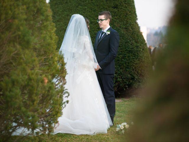 Il matrimonio di Simone e Antonella a Cantello, Varese 23