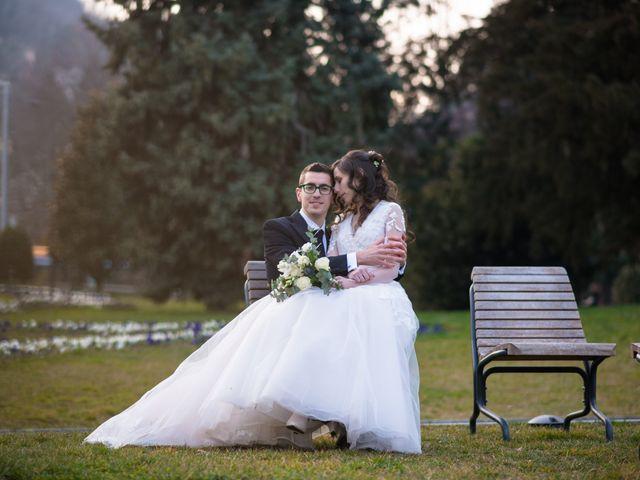 Il matrimonio di Simone e Antonella a Cantello, Varese 28